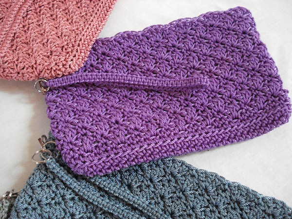 Simply Sweet Clutch Crochet Pattern Fun Crochet Designs