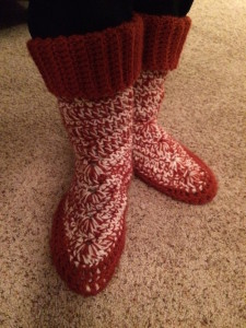 Peppermint Boots