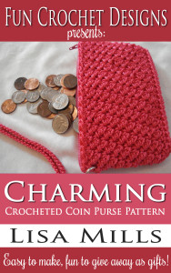 The Charming Crocheted Coin Purse Pattern on Amazon