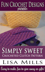 The Simply Sweet Crocheted Clutch Pattern on Amazon