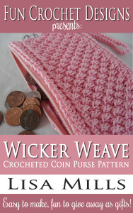 The Wicker Weave Crocheted Coin Purse Pattern on Amazon