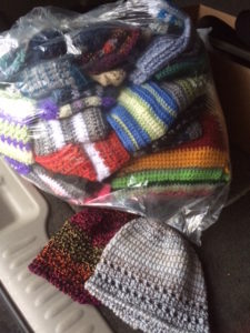 Hats and Scarves for Charity