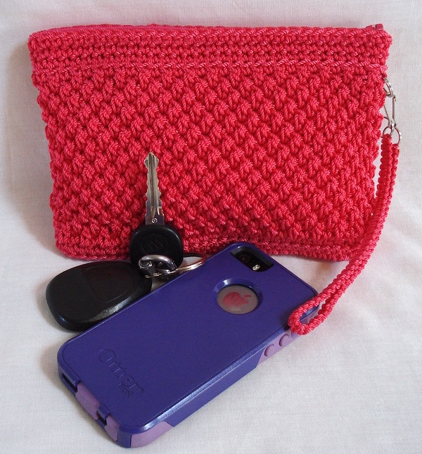 Wicker Weave Clutch Pattern