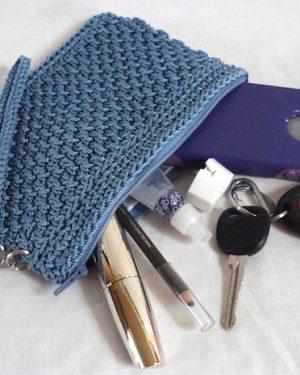 Wicker Weave Clutch Pattern
