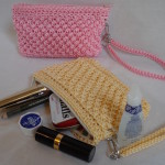 Wicker Weave Coin Purse