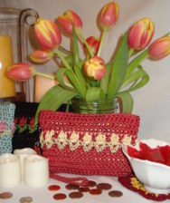 Tulips Coin Purse