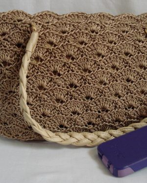 Rippled Shells Crocheted Purse Pattern