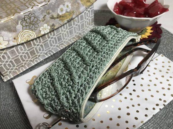 Whimsical Eyeglass Case Crochet Pattern by Fun Crochet Designs